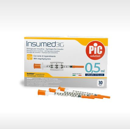 Siringhe Insumed (0,5 ml)